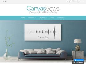 Canvas Vows Promo Codes